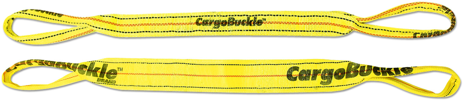 CargoBuckle tow strap with loop ends.