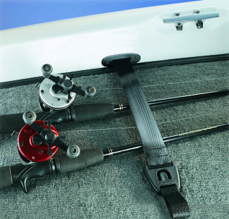 BoatBuckle F14200 Gunwale//Deck Mount Retractable Rod Tie-Down
